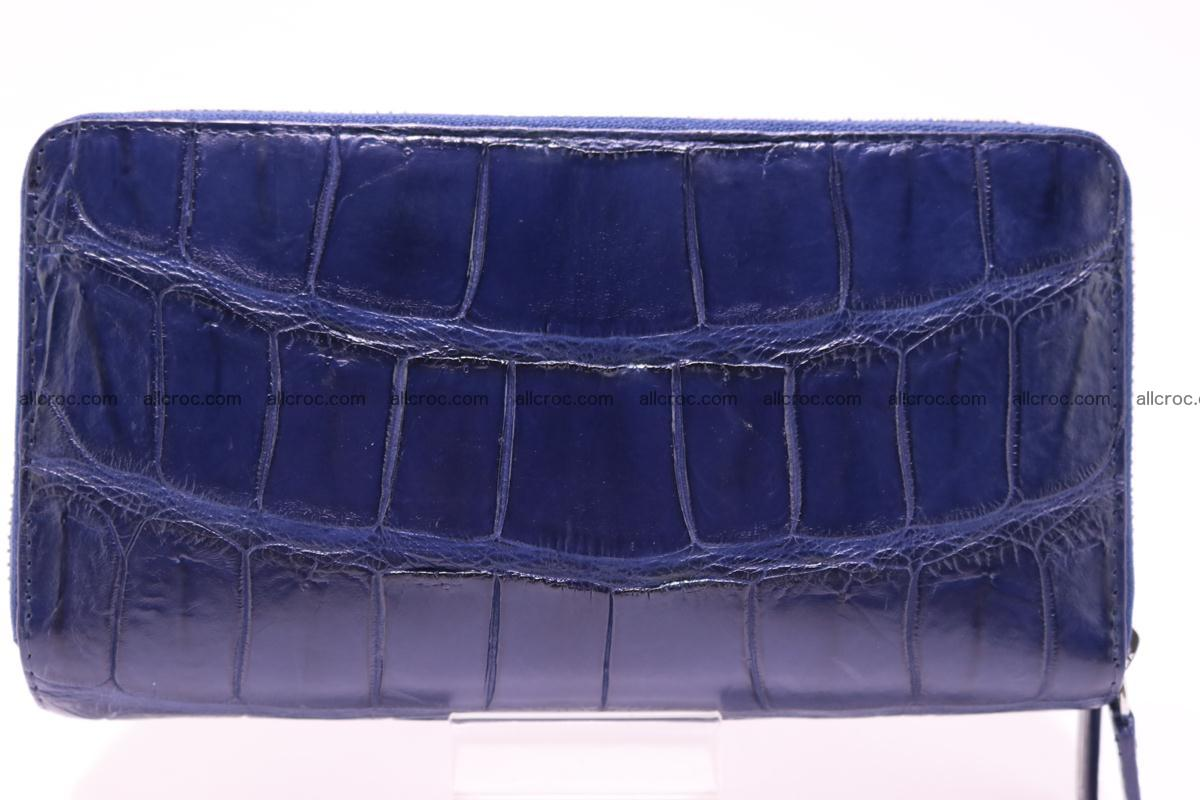Crocodile wallet with 2 zips 306 Foto 1