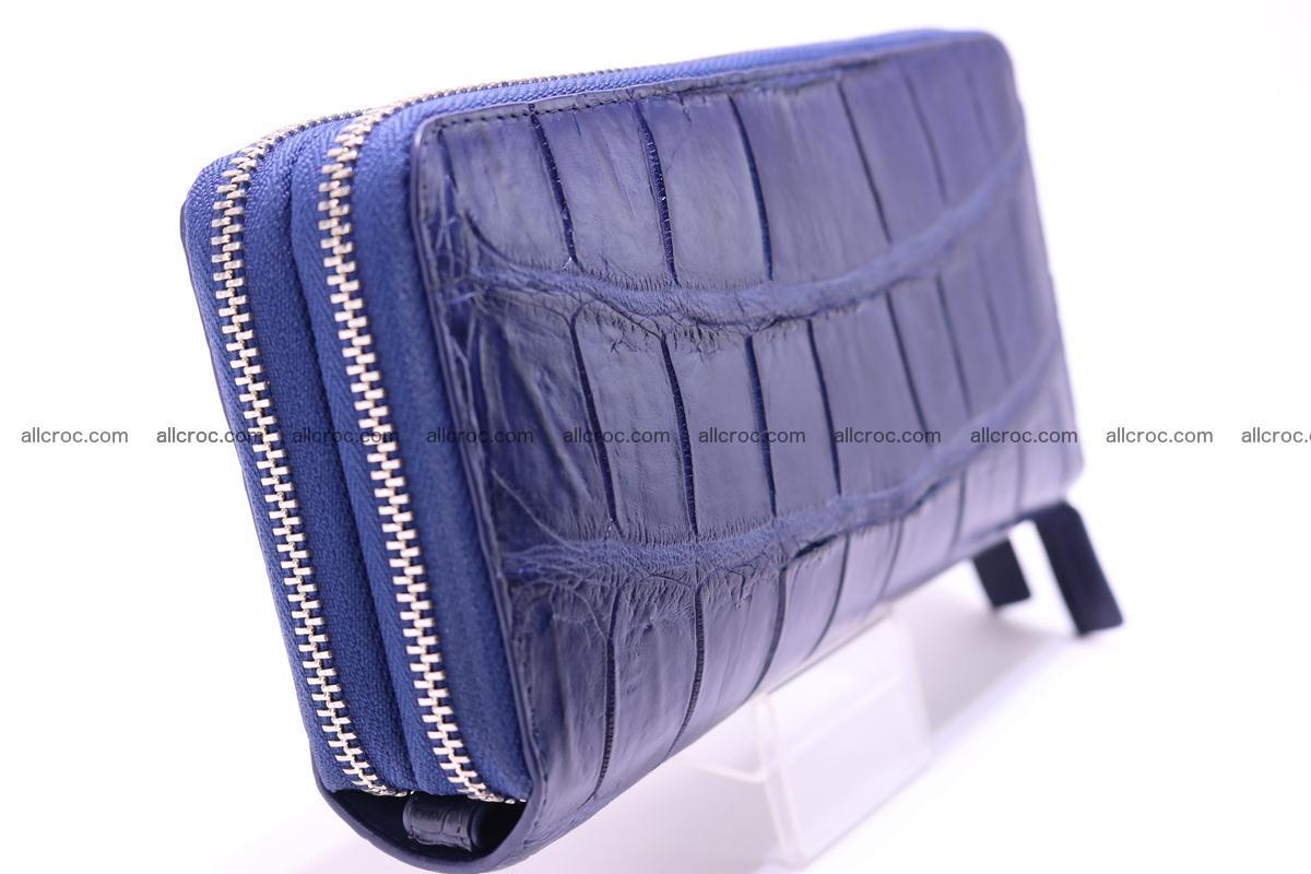 Crocodile wallet with 2 zips 306 Foto 5