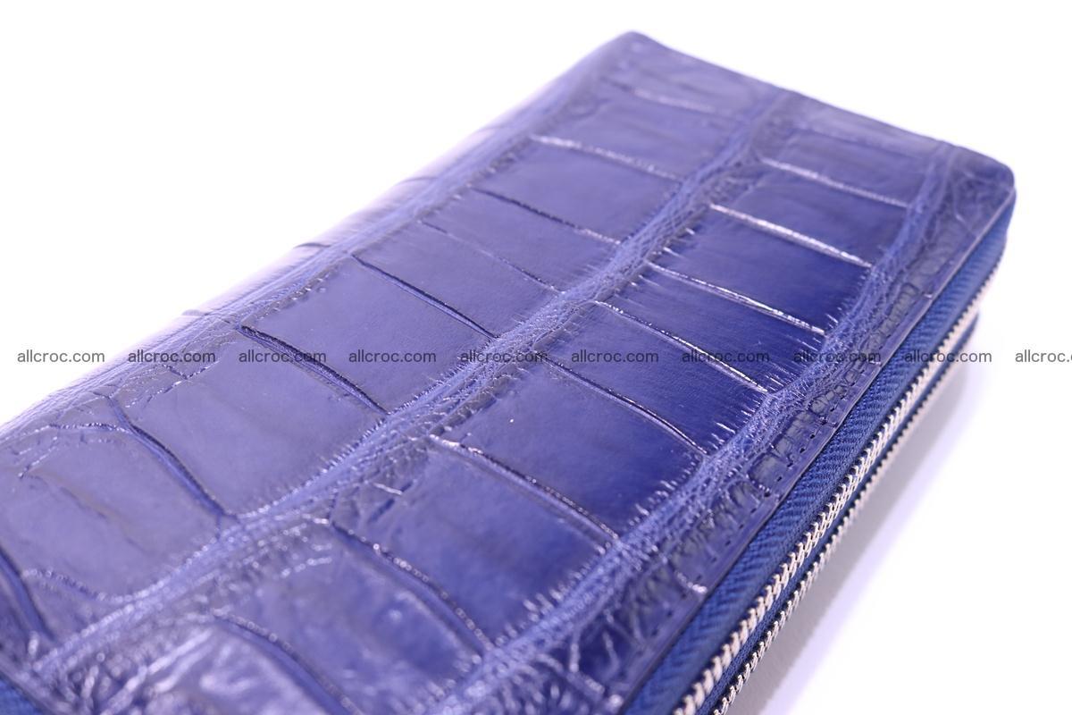 Crocodile wallet with 2 zips 306 Foto 8