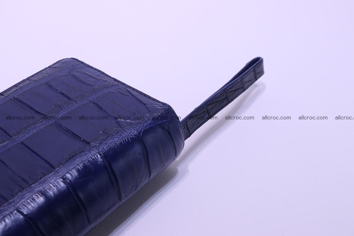 Crocodile wallet with 2 zips 306 Foto 9
