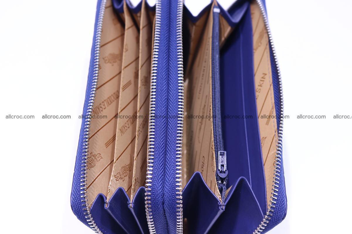 Crocodile wallet with 2 zips 306 Foto 11