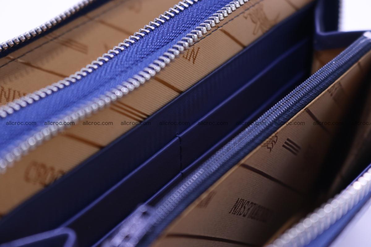 Crocodile wallet with 2 zips 306 Foto 13