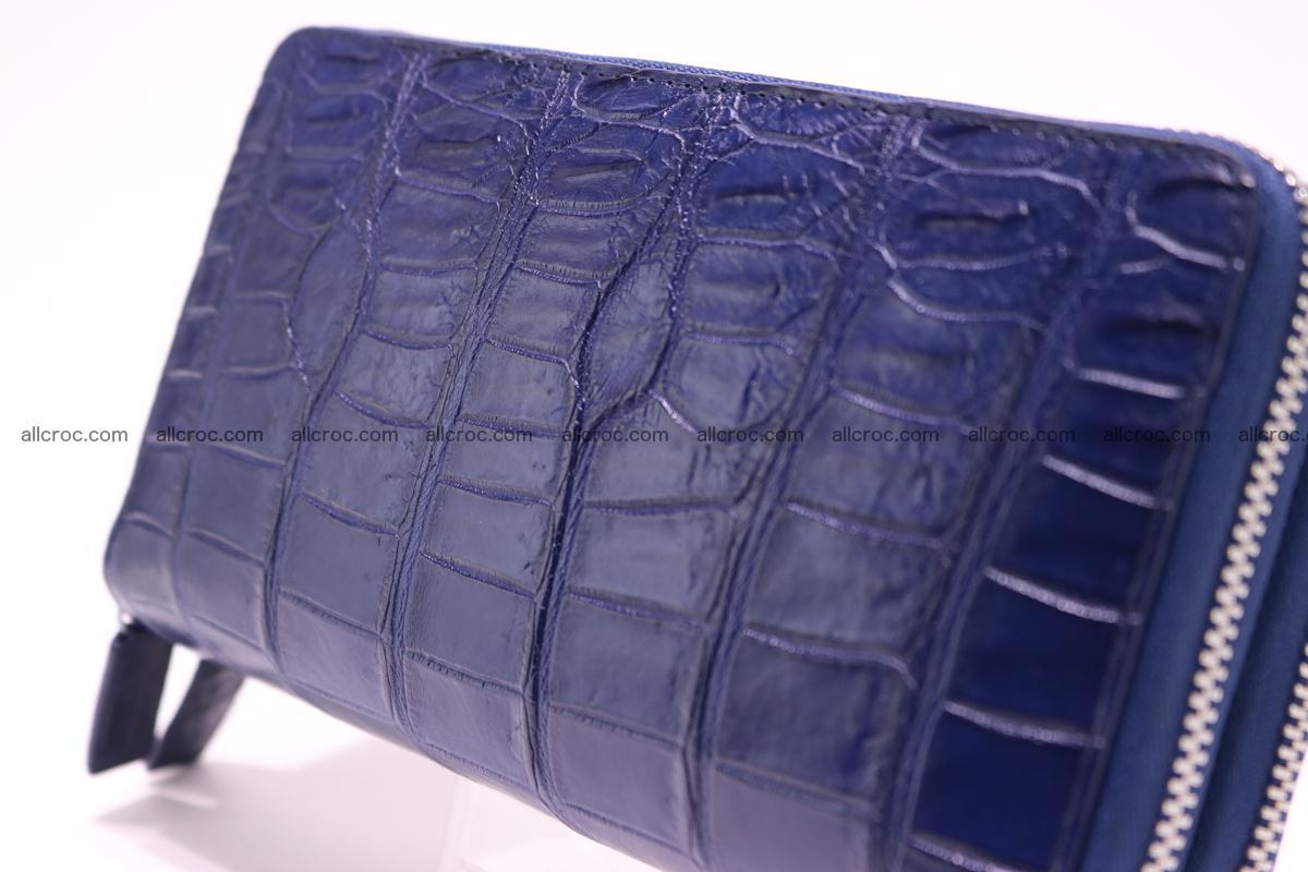 Crocodile wallet with 2 zips 307 Foto 5