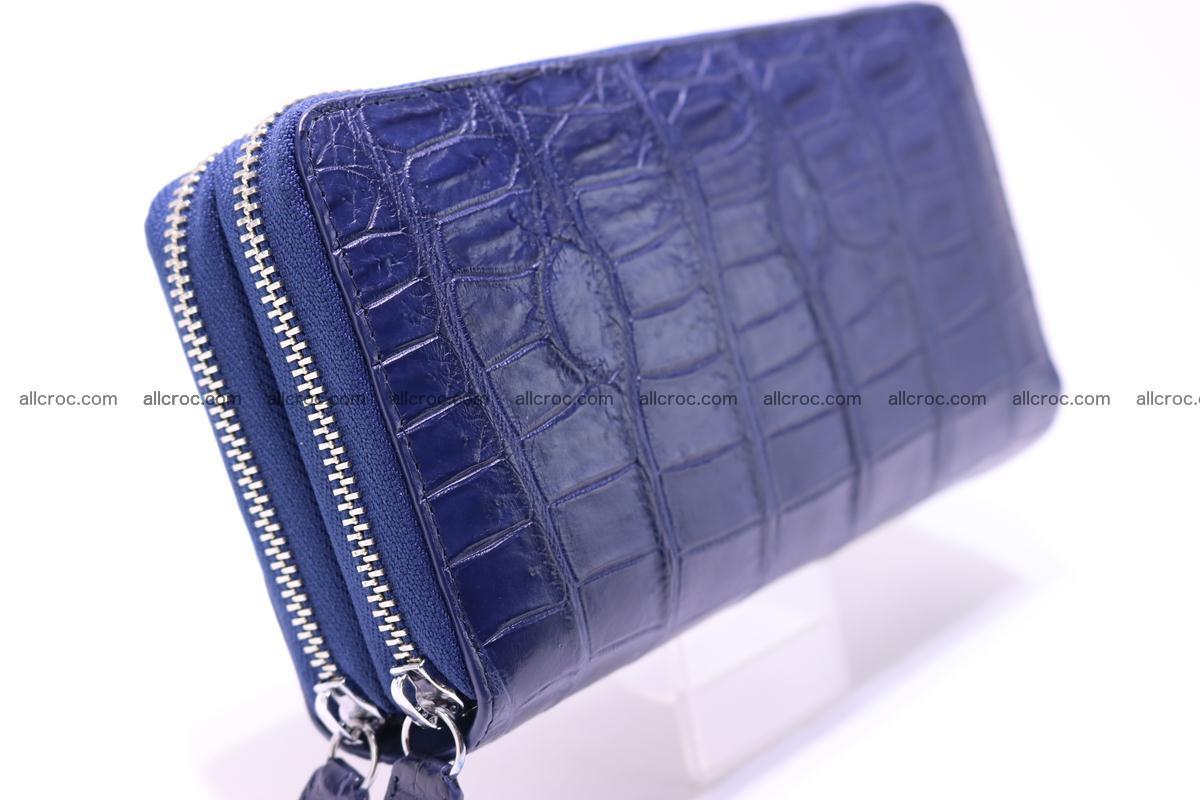 Crocodile wallet with 2 zips 307 Foto 6