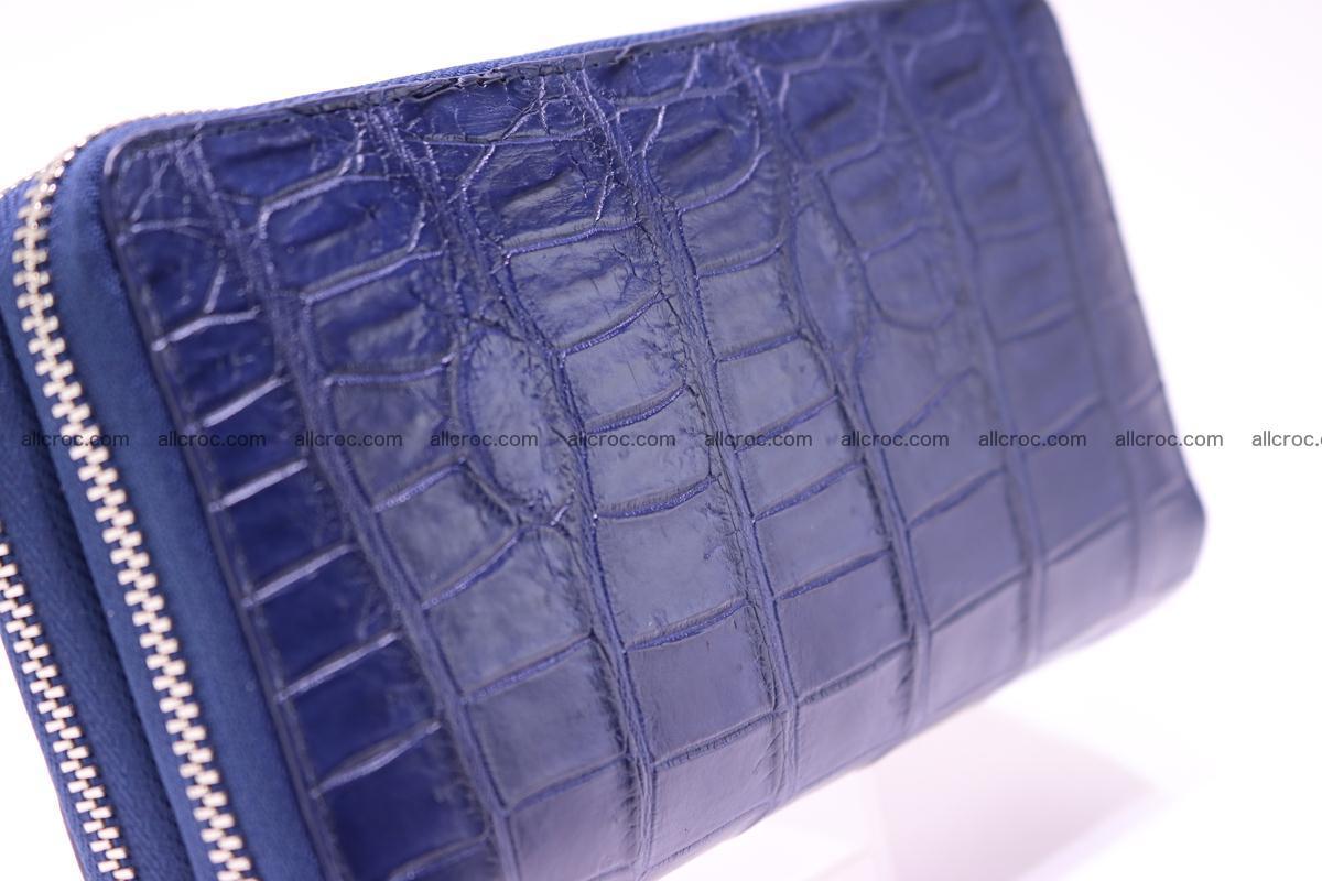 Crocodile wallet with 2 zips 307 Foto 7