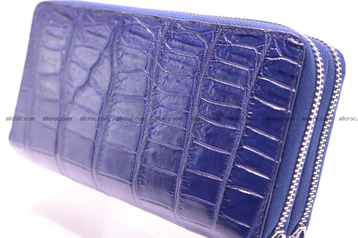 Crocodile wallet with 2 zips 307 Foto 2