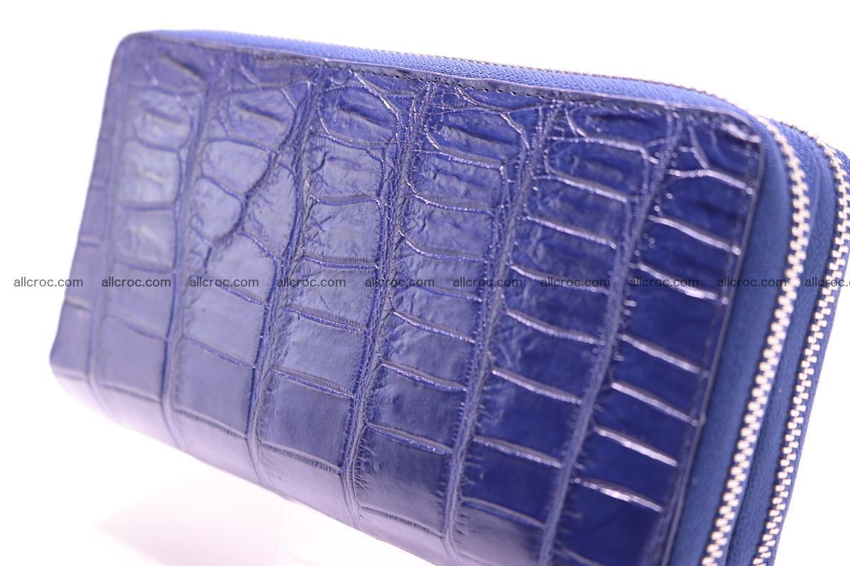 Crocodile wallet with 2 zips 307 Foto 3