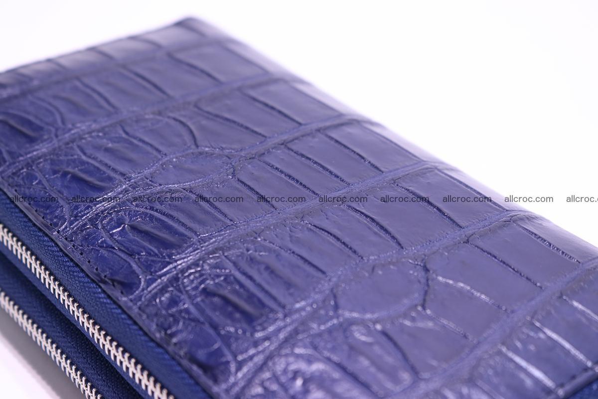 Crocodile wallet with 2 zips 307 Foto 10