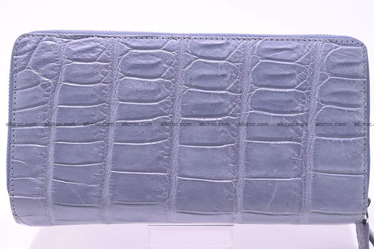 Crocodile wallet with 2 zips 308 Foto 0