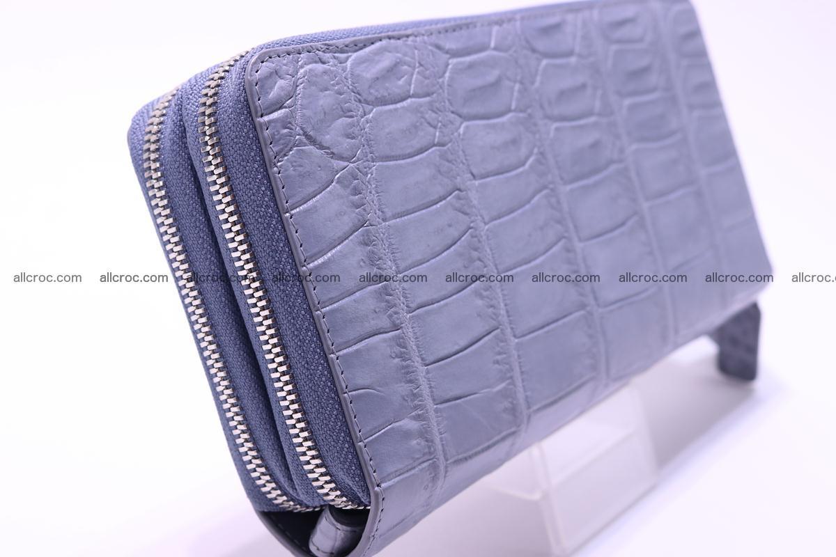 Crocodile wallet with 2 zips 308 Foto 3