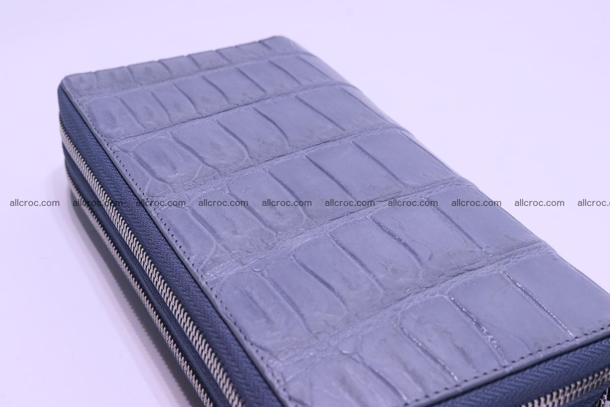 Crocodile wallet with 2 zips 308 Foto 11