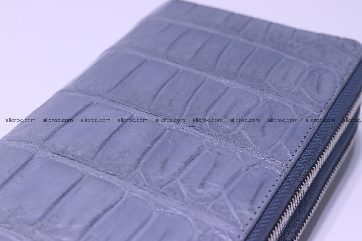 Crocodile wallet with 2 zips 308 Foto 13