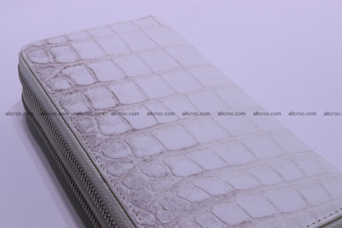 Crocodile wallet with 2 zips 309 Foto 11