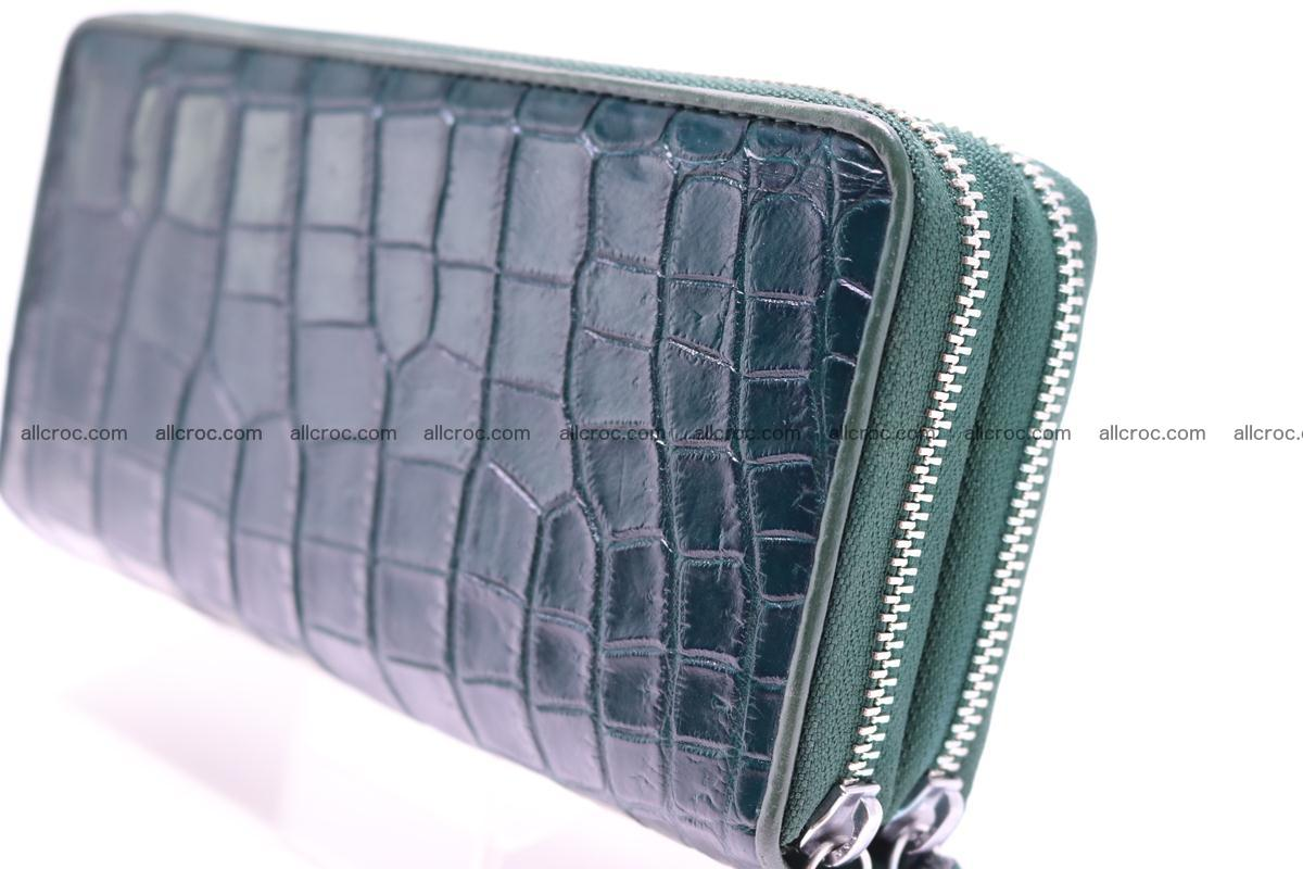 Crocodile wallet with 2 zips 310 Foto 2
