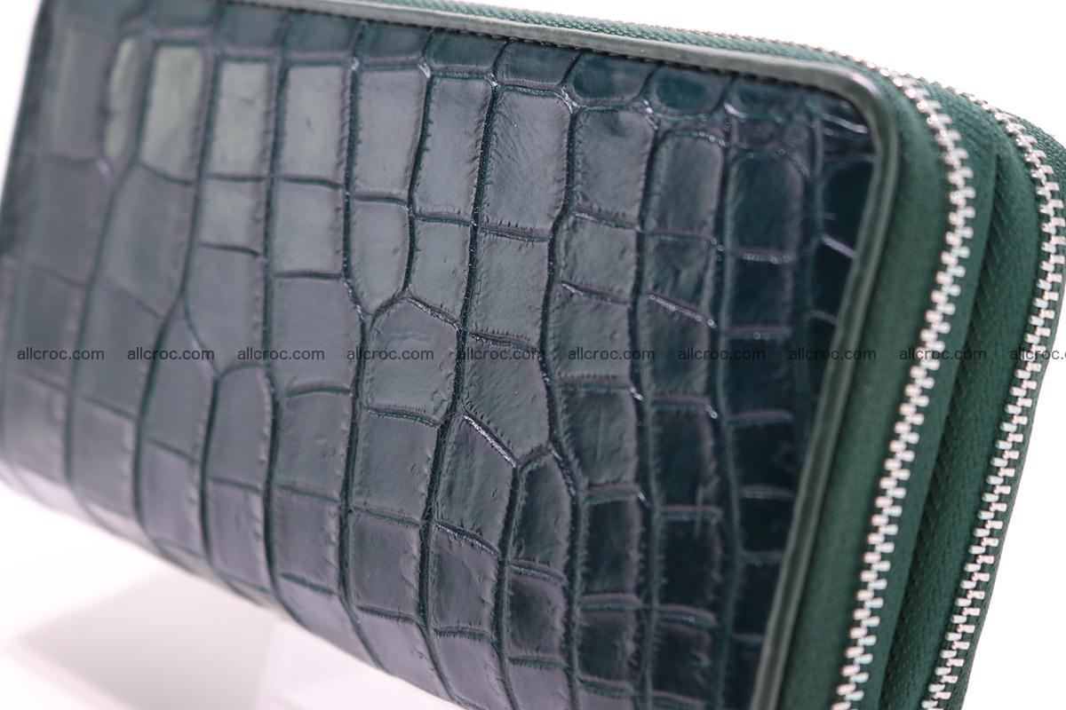 Crocodile wallet with 2 zips 310 Foto 3