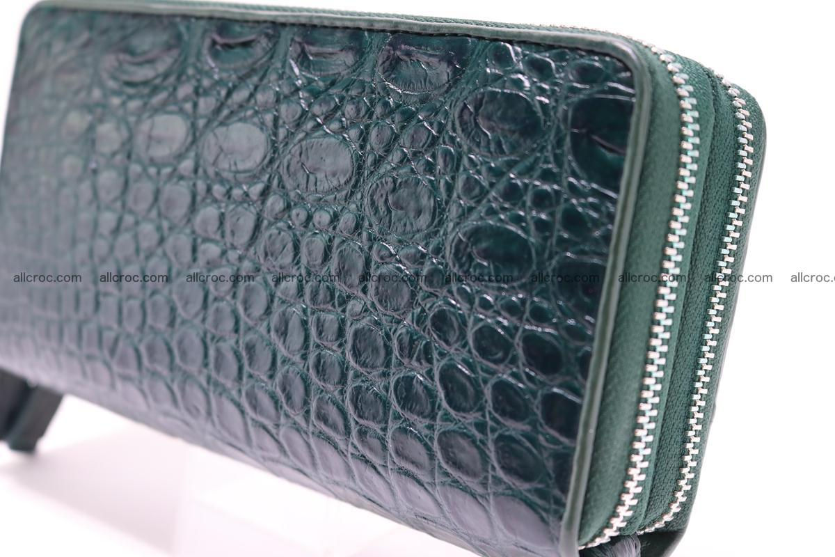 Crocodile wallet with 2 zips 310 Foto 10