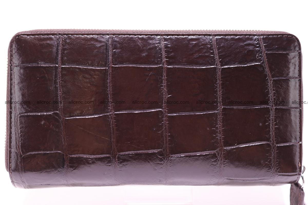 Crocodile wallet with 2 zips 311 Foto 0