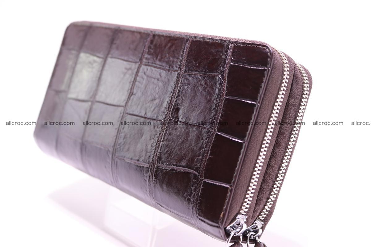 Crocodile wallet with 2 zips 311 Foto 2