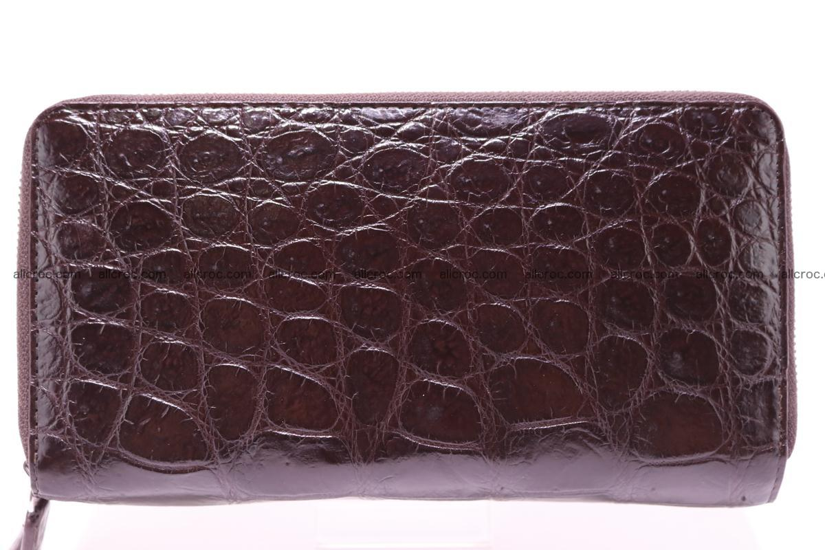 Crocodile wallet with 2 zips 311 Foto 1