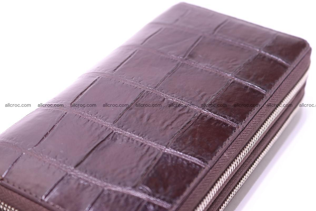 Crocodile wallet with 2 zips 311 Foto 8