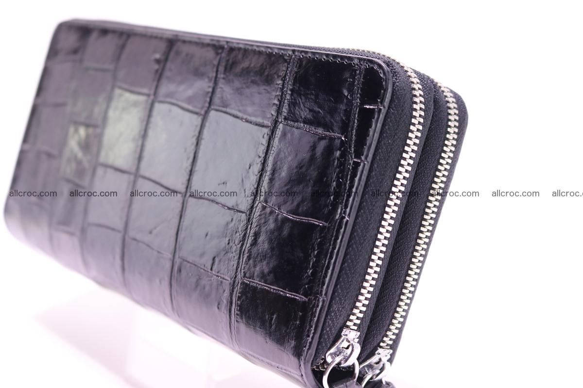 Crocodile wallet with 2 zips 312 Foto 2