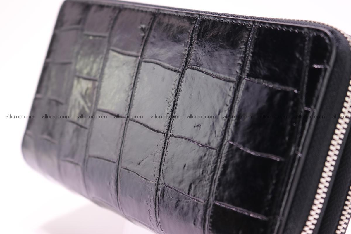 Crocodile wallet with 2 zips 312 Foto 3