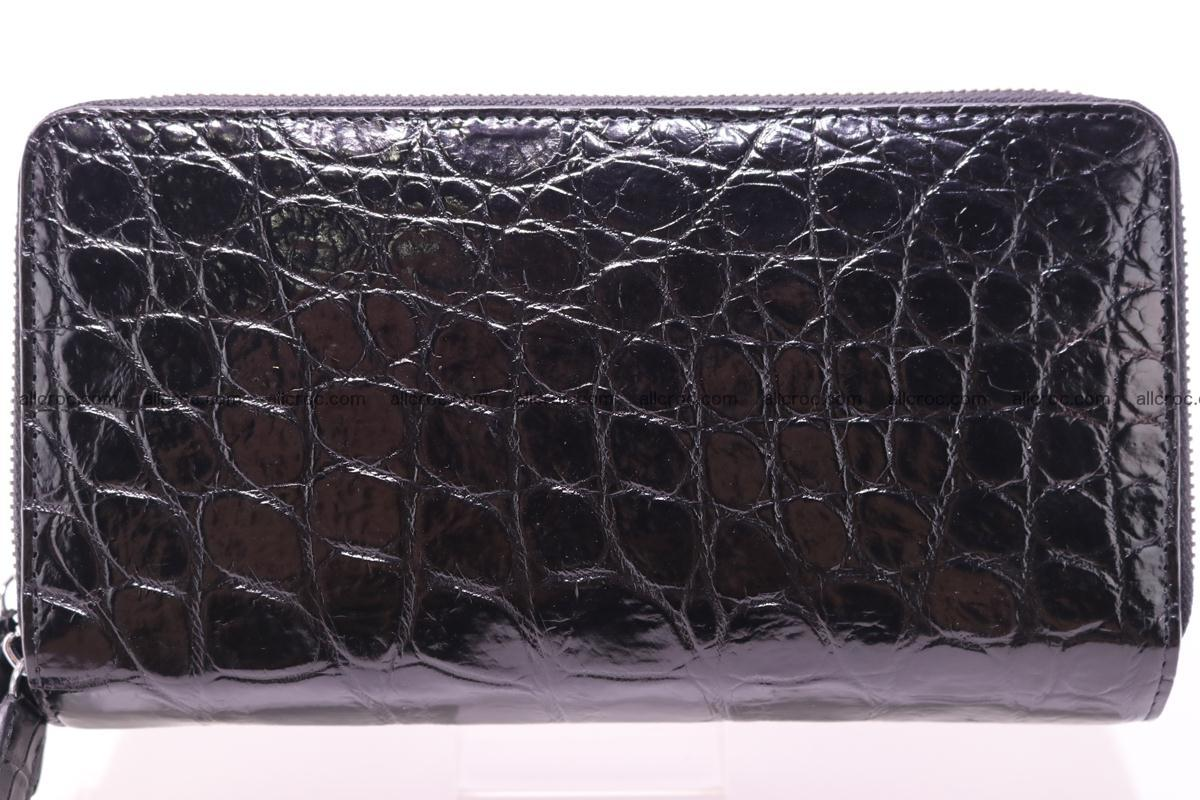 Crocodile wallet with 2 zips 312 Foto 1