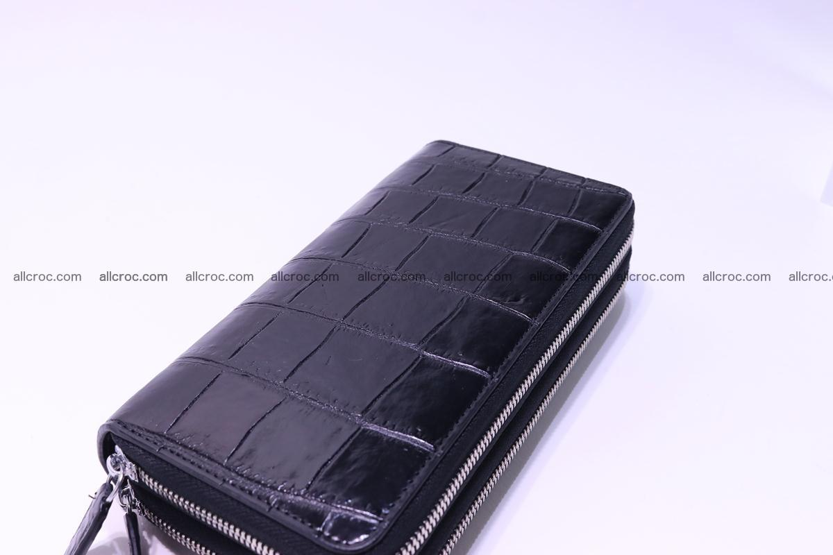 Crocodile wallet with 2 zips 312 Foto 9