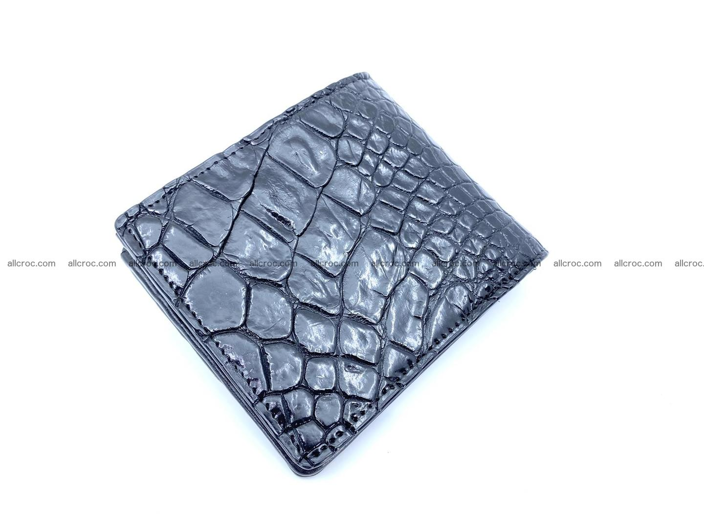 Wallet from Siamese crocodile skin with paw and claws 506 Foto 2