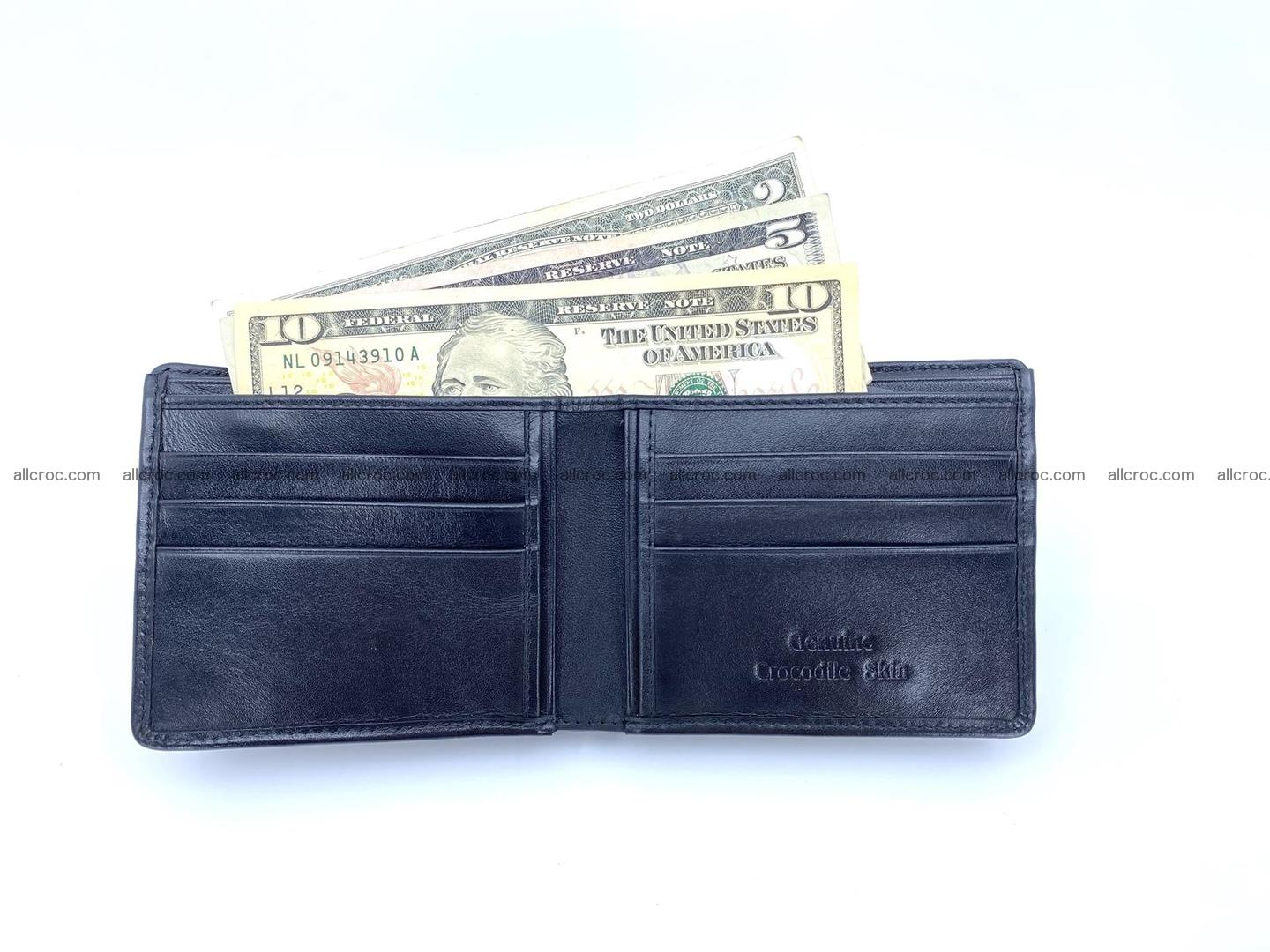 Wallet from Siamese crocodile skin with paw and claws 506 Foto 5