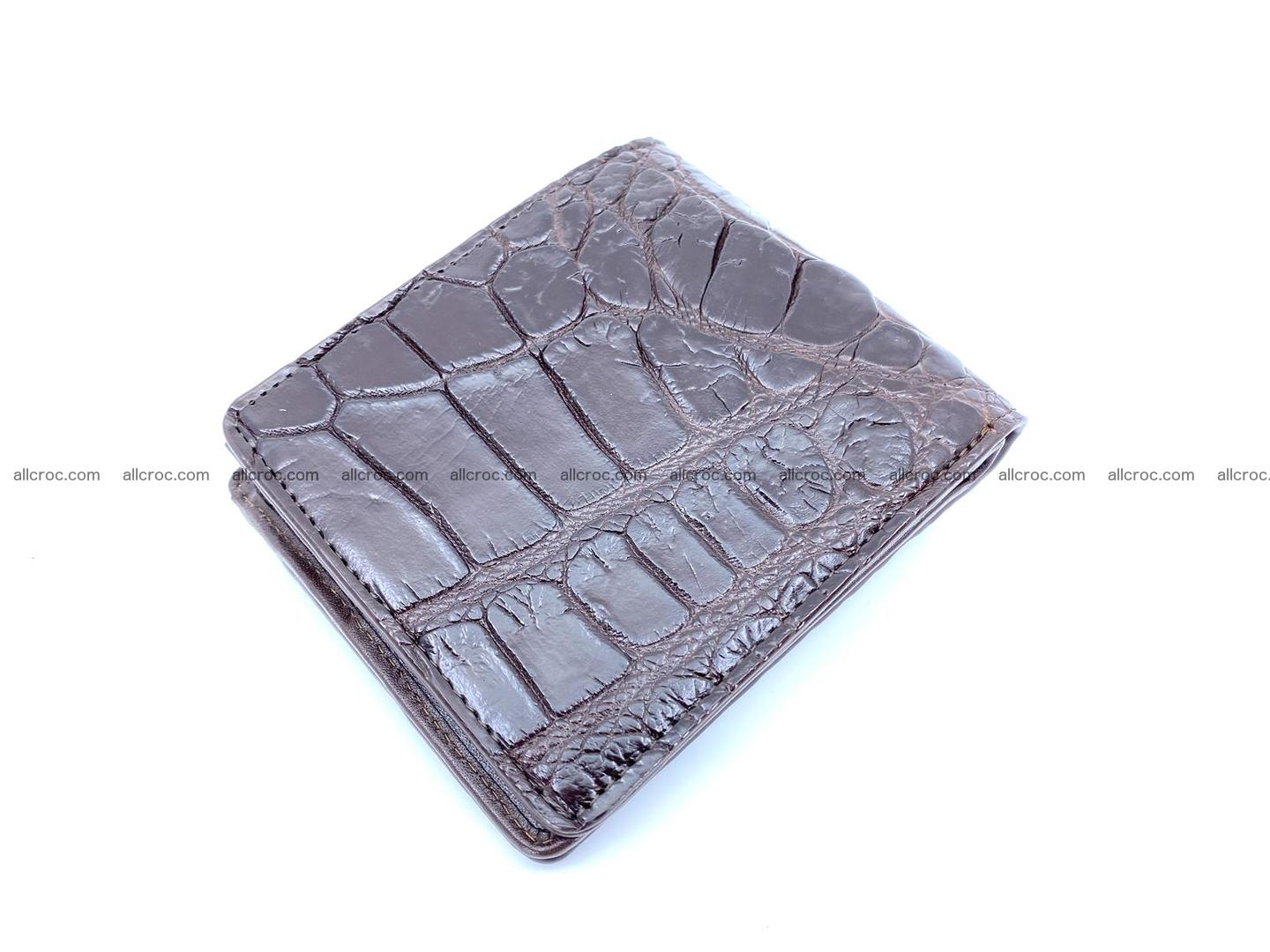 Wallet from Siamese crocodile skin with paw and claws  507 Foto 3