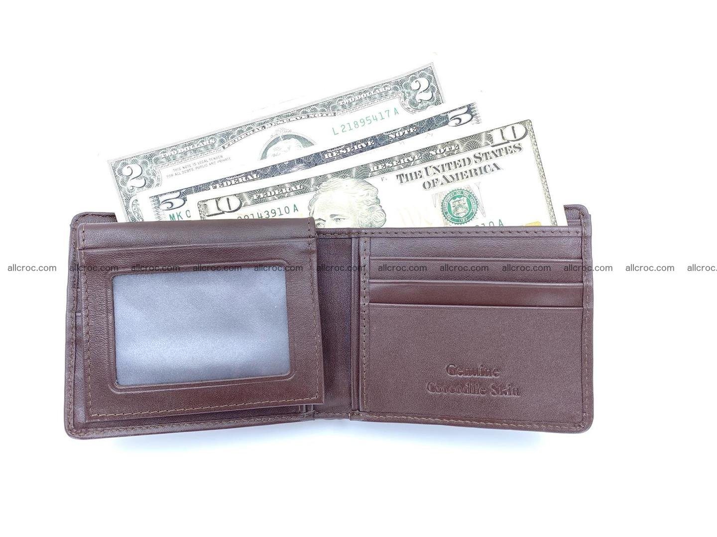 Wallet from Siamese crocodile skin with paw and claws  507 Foto 6