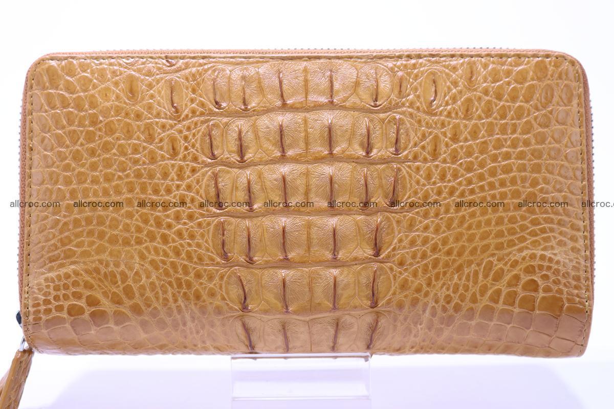 Crocodile wallet with 2zip 299 Foto 0