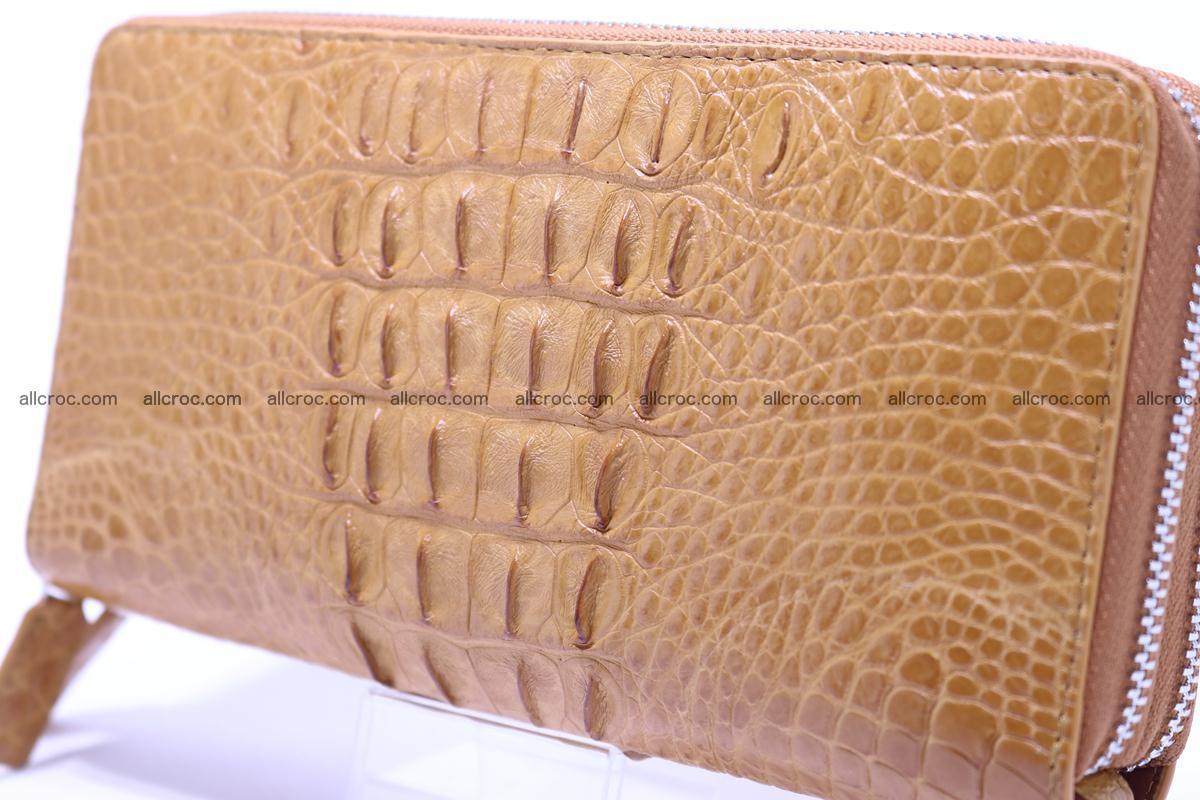 Crocodile wallet with 2zip 299 Foto 5