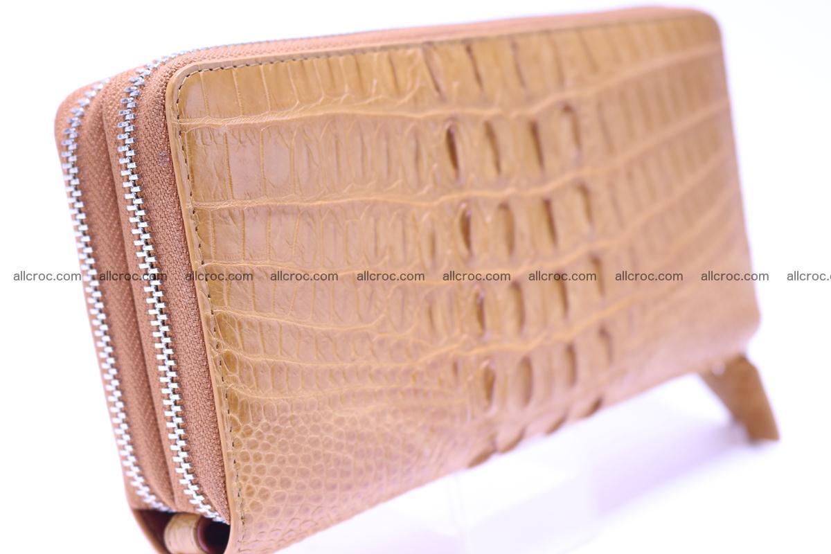 Crocodile wallet with 2zip 299 Foto 1