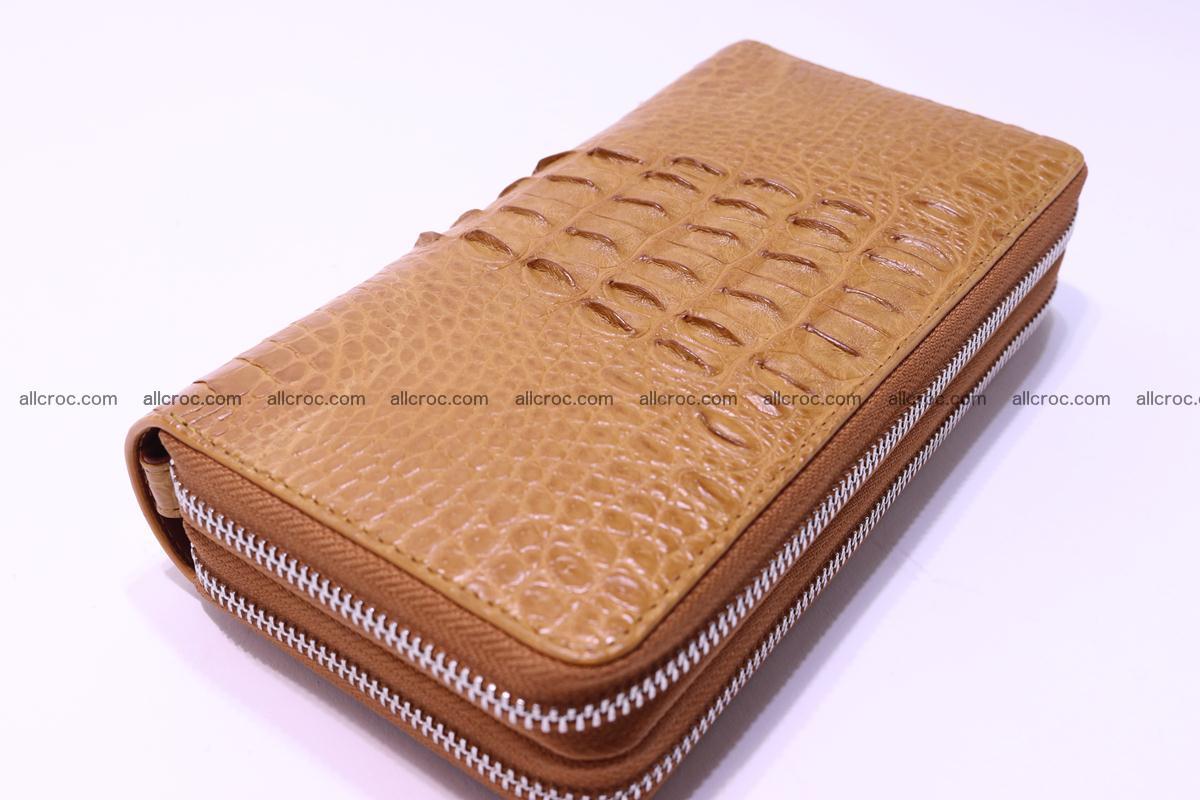 Crocodile wallet with 2zip 299 Foto 3