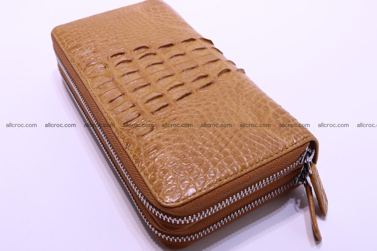 Crocodile wallet with 2zip 299 Foto 4