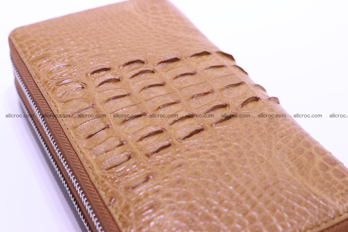 Crocodile wallet with 2zip 299 Foto 6