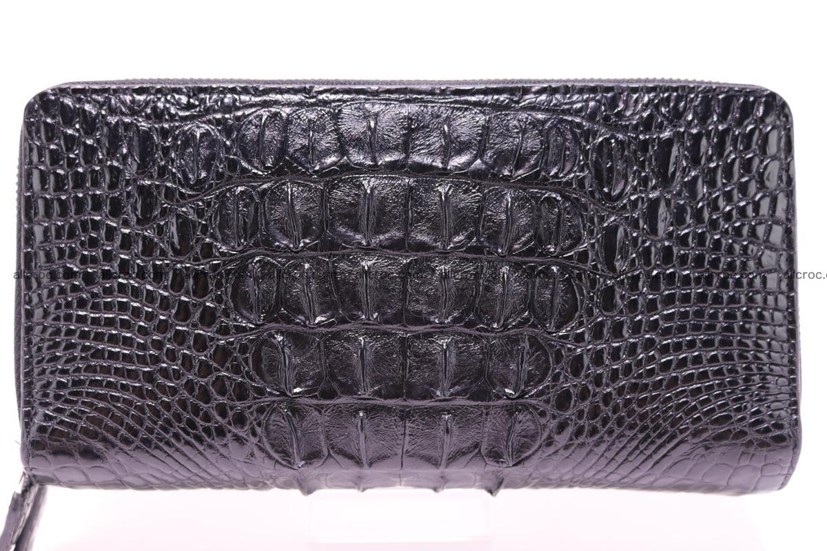 Crocodile wallet with 2zip 300 Foto 0