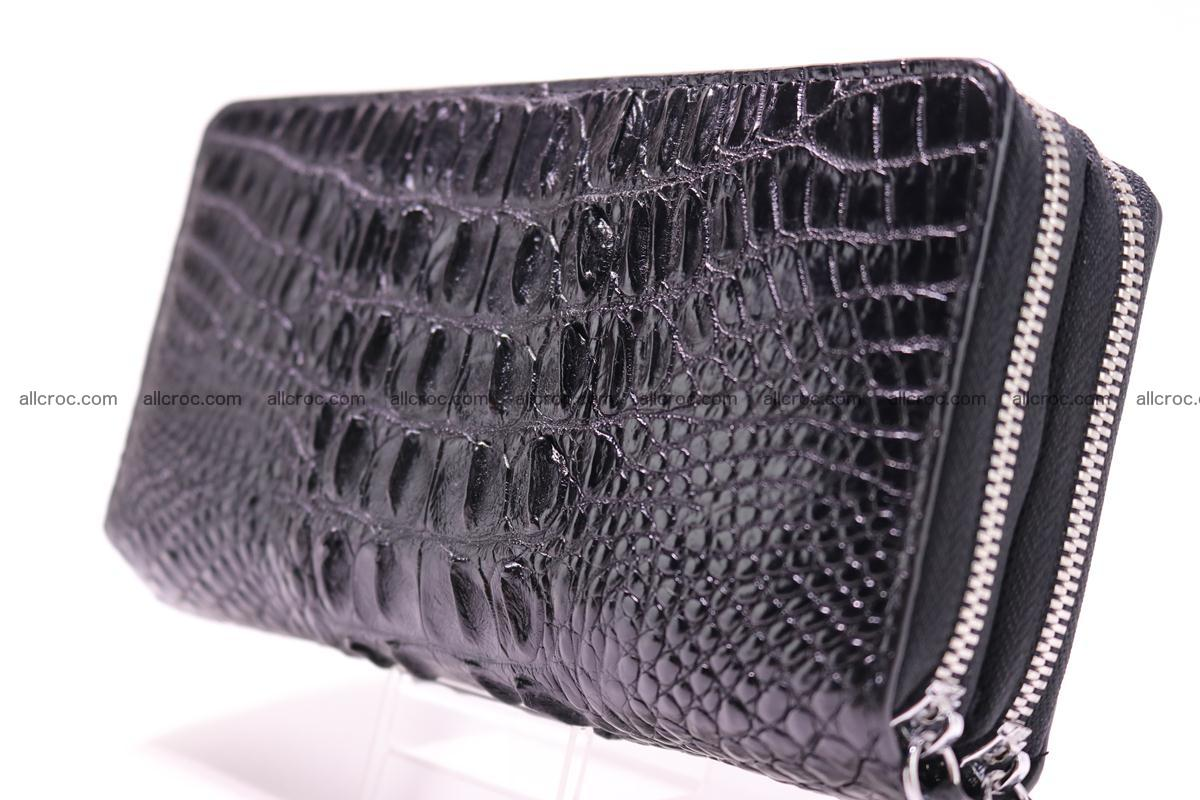 Crocodile wallet with 2zip 300 Foto 2