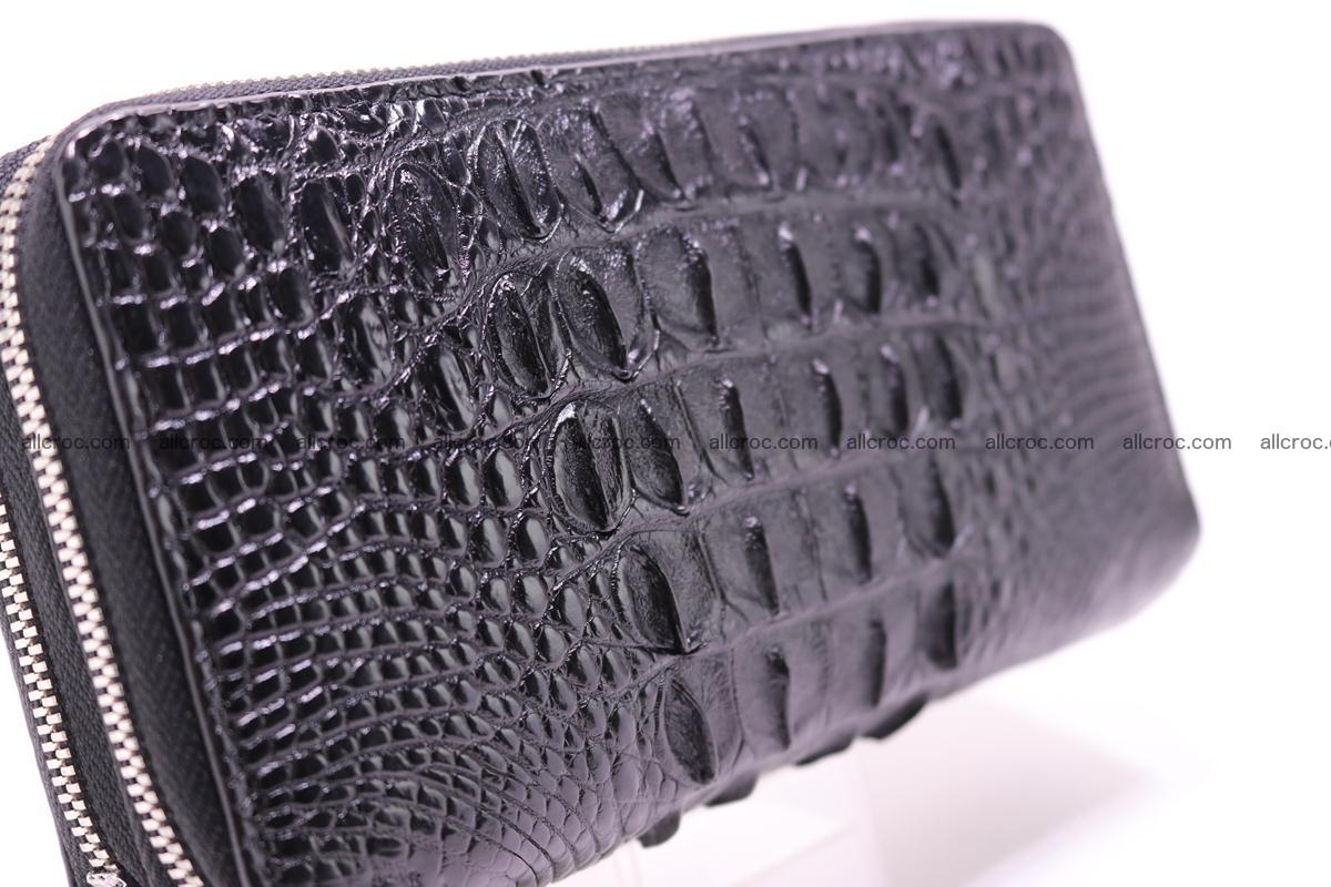 Crocodile wallet with 2zip 300 Foto 3