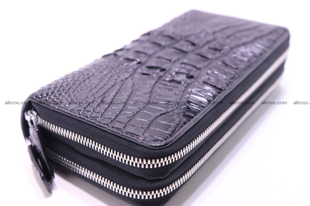 Crocodile wallet with 2zip 300 Foto 6