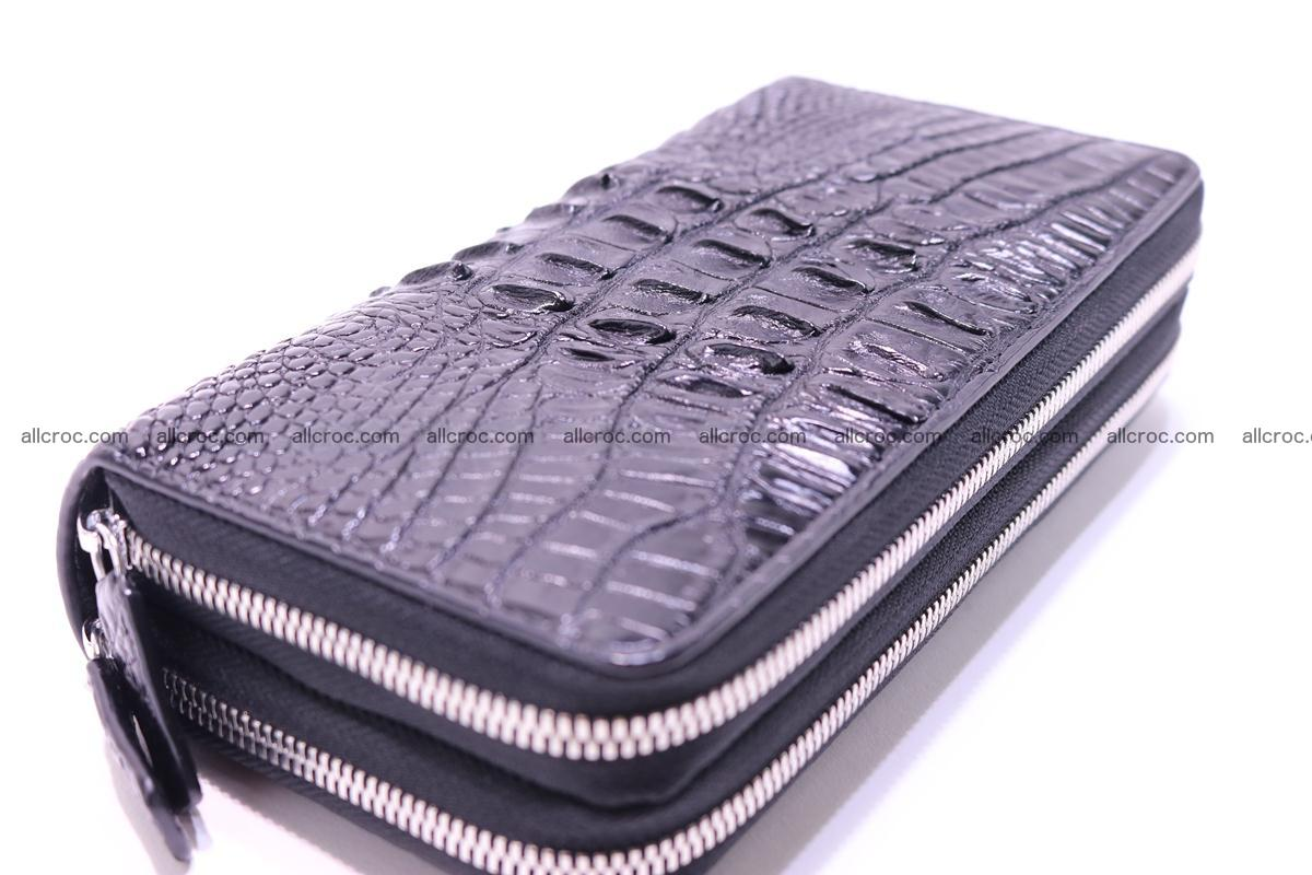 Crocodile wallet with 2zip 300 Foto 7