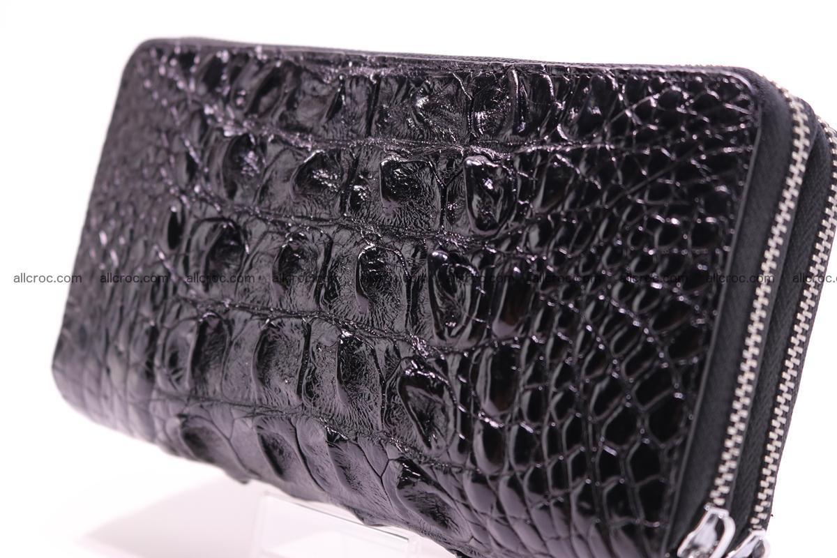 Crocodile wallet with 2zip 301 Foto 2