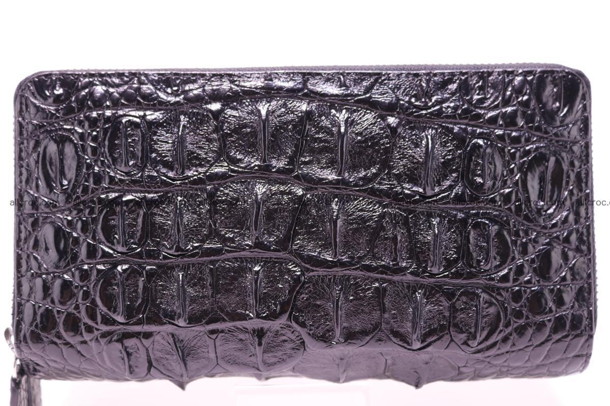 Crocodile wallet with 2zip 301 Foto 1