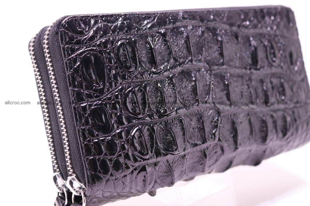 Crocodile wallet with 2zip 301 Foto 3