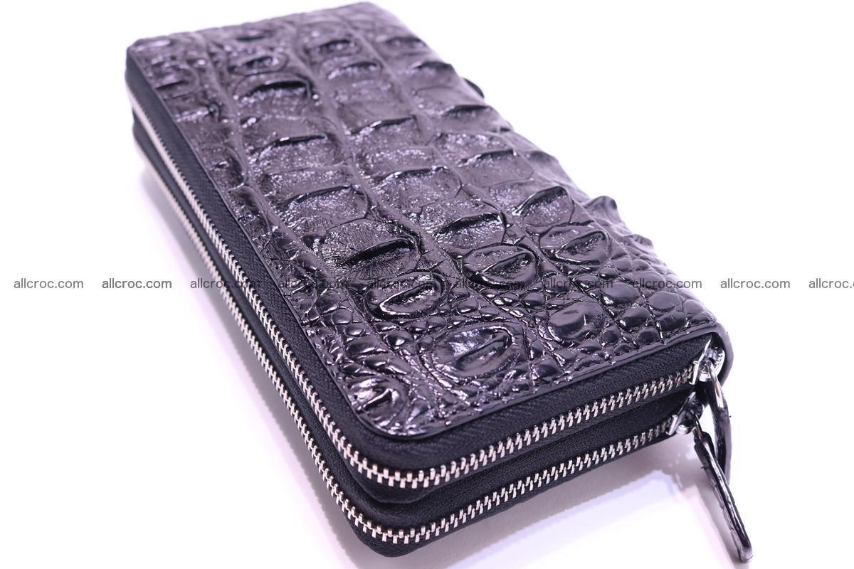 Crocodile wallet with 2zip 301 Foto 6