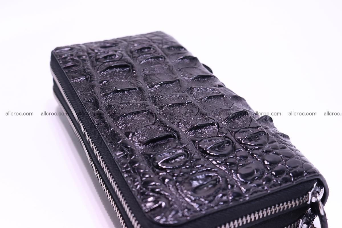 Crocodile wallet with 2zip 301 Foto 5
