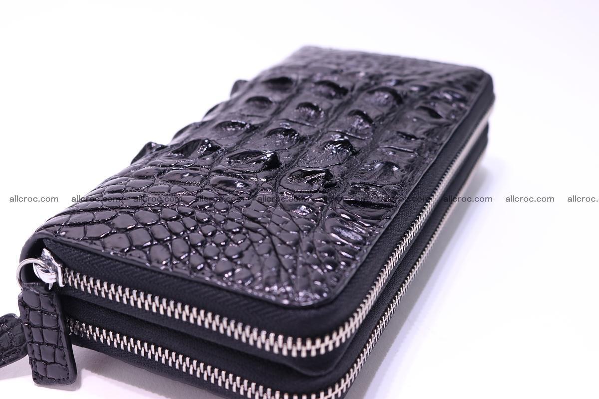 Crocodile wallet with 2zip 301 Foto 4