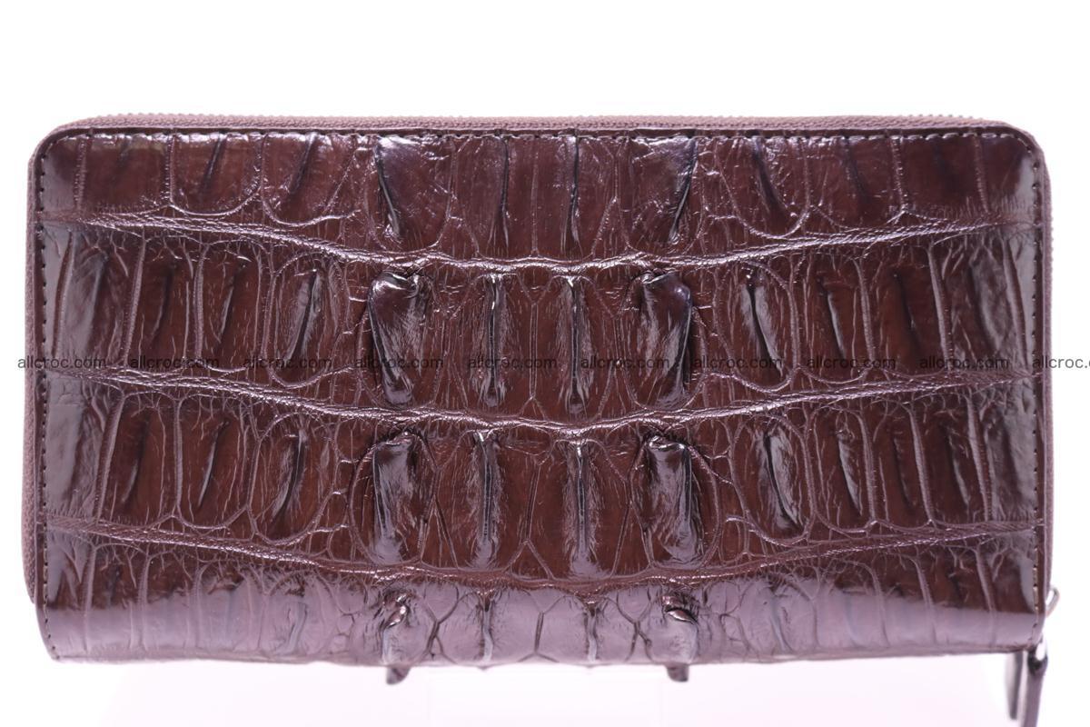 Crocodile wallet with 2zip 302 Foto 1